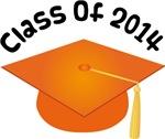 2014 School Class Graduation (Orange)