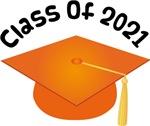 2021 School Class Graduation (Orange)