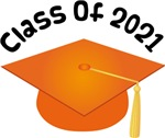 2021 School Class Graduation (Orange)