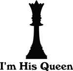 Chess Queen Couples T-shirts