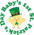 Irish Baby's 1st St Patrick's Chick Tees