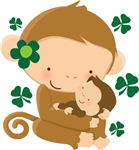 Irish Monkey St Patricks T-shirts