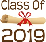 2019 School Class Diploma Design Gifts