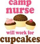 Camp Nurse Chocoholic T-shirts and Gifts