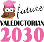 Class Of 2030 Future Valedictorian Tee shirts