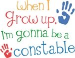 Future Constable Kids T-shirts