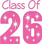 Class Of 2026 School T-shirts
