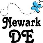 Newark Delaware Butterfly T-shirts