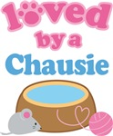 Loved By A Chausie Cat T-shirts