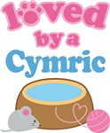 Loved By A Cymric Cat T-shirts