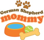 German Shepherd Mommy T-shirts and Gifts