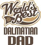 Dalmatian Dad (Worlds Best) T-shirts