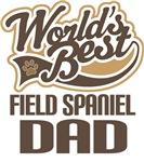 Field Spaniel Dad (Worlds Best) T-shirts