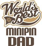Minipin Dad (Worlds Best) T-shirts