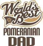 Pomeranian Dad (Worlds Best) T-shirts