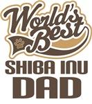 Shiba Inu Dad (Worlds Best) T-shirts