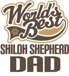 Shiloh Shepherd Dad (Worlds Best) T-shirts