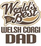 Welsh Corgi Dad (Worlds Best) T-shirts