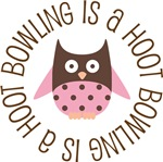 BOWLING IS A HOOT OWL TEES AND GIFTS
