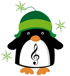 Christmas Gifts With Music Penguin