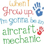 Future Aircraft Mechanic Kids T-shirts