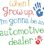 Future Automotive Dealer Kids T-shirts