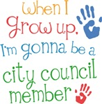Future City Council Member Kids T-shirts