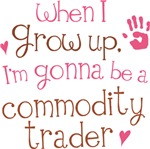Future Commodity Trader Kids T-shirts