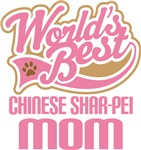 Chinese Shar-pei Dog Mom T-shirts and Gifts