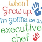 Future Executive Chef Kids T-shirts