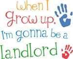 Future Landlord Kids T-shirts