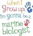 Future Marine Biologist Kids T-shirts