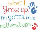 Future Mathematician Kids T-shirts