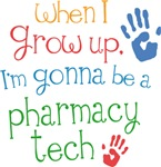 Future Pharmacy Tech Kids T-shirts