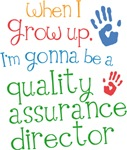 Future Quality Assurance Director Kids T-shirts