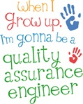 Future Quality Assurance Engineer Kids T-shirts