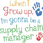 Future Supply Chain Manager Kids T-shirts