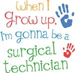 Future Surgical Technician Kids T-shirts