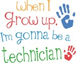 Future Technician Kids T-shirts
