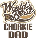 Chorkie Dad (Worlds Best) T-shirts