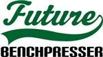 Future Benchpresser Kids T Shirts