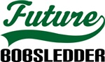 Future Bobsledder Kids T Shirts