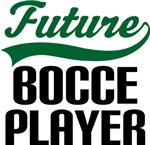 Future Bocce Player Kids T Shirts