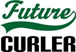 Future Curler Kids T Shirts