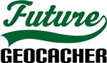 Future Geocacher Kids T Shirts