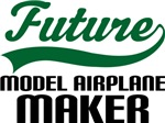 Future Model Airplane Maker Kids T Shirts