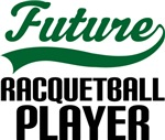 Future Racquetball Player Kids T Shirts