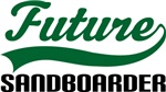 Future Sandboarder Kids T Shirts