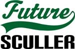 Future Sculler Kids T Shirts