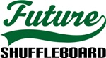 Future Shuffleboard Kids T Shirts